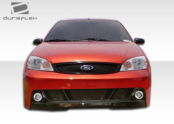 2005 2006 Ford Focus Duraflex Pro Dtm Front Bumper Body Kit On