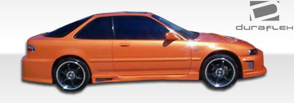 1990 1993 Acura Integra 2DR Duraflex Spyder Side Skirts Body Kit