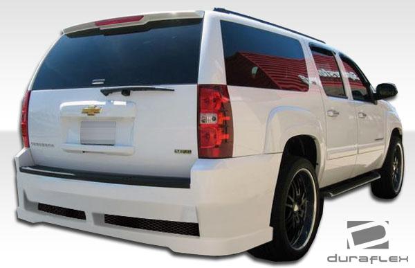 2007 2012 Chevy Suburban Duraflex Hot Wheels Rear Bumper Body Kit