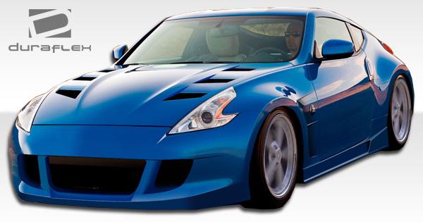 Duraflex Hot Wheels Hood fits Nissan 370Z 09 13. We recommend the