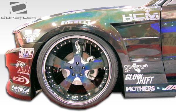 2010 2012 Ford Mustang Duraflex Hot Wheels Fenders Body Kit